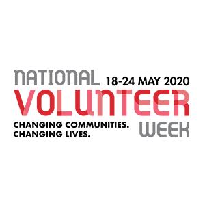 National Volunteer Week 2020 Logo
